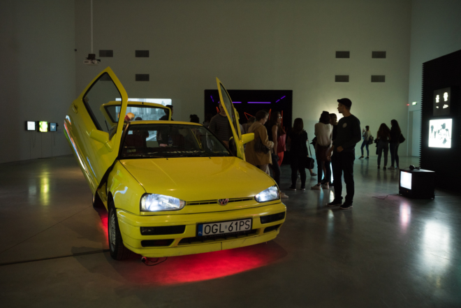 Muzeum Sztuki Nowoczesnej Warszawa / 140 Bits Per Minute - Rave